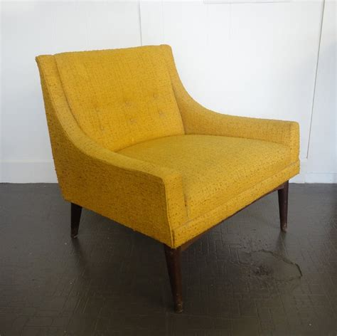 mid century upholstery mid century modern upholstered mustard selig style lounge