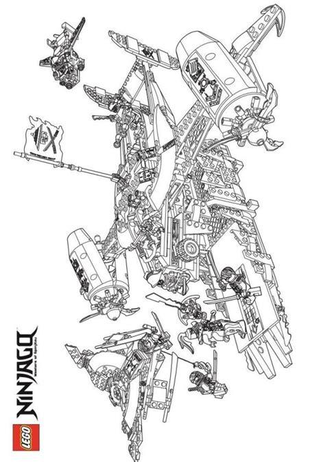 malvorlage lego ninjago ausmalbilder kaua