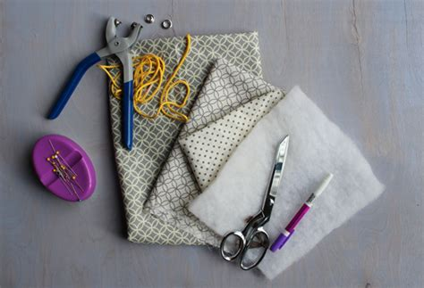 Diy Make A Drawstring Jewelry Pouch Haberdashery