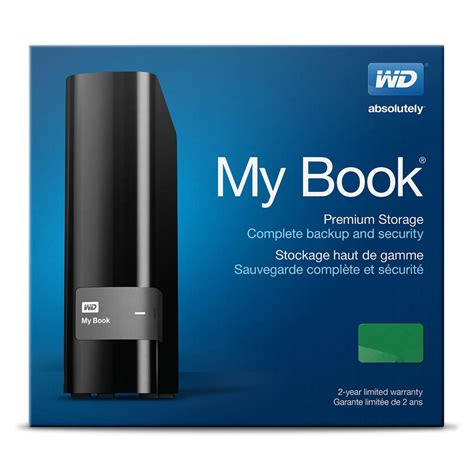 Wdc My Book 2tb External Hardisk 3 5 wd my book usb 3 0 external drive 3 5 inch 2tb