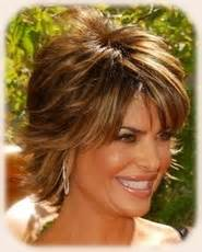 back view of rinna hairstyle hair styles on pinterest lisa rinna shag hairstyles and hairstyles