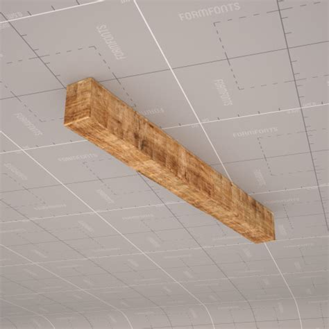 Rustic Wood Beams 3D Model   FormFonts 3D Models & Textures