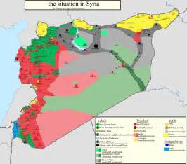 Syria On Map by Husseineih Today In Syria