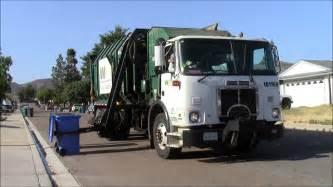 Garbage Truck by Waste Management Garbage Trucks