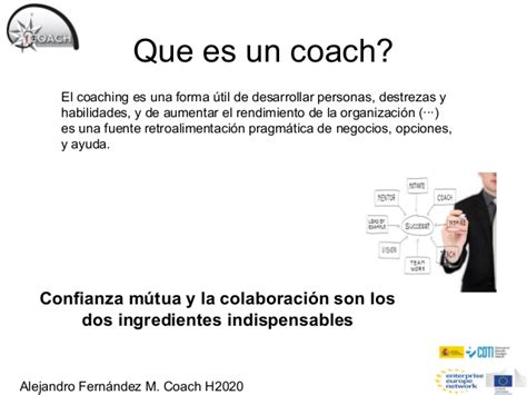 que es el couching taller instrumento pyme horizonte2020 business coaching