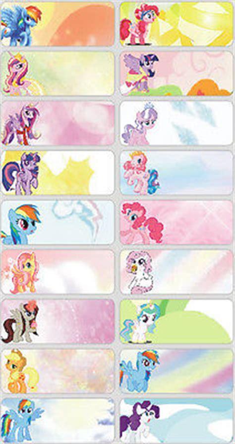 Label Name Buku Pony vous d 233 cider conception 60 pcs my pony photos personnalis 233 nom bouteille de 233 tiquette