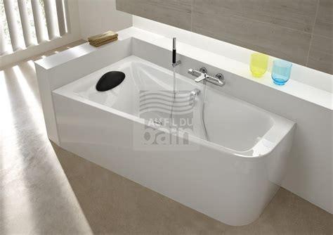 si鑒e de baignoire baignoires acrylique asymetriques avec tablier bain