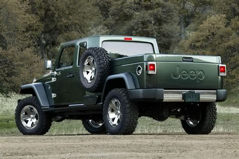 jeep prototype truck sport car garage jeep pickup models for 2014