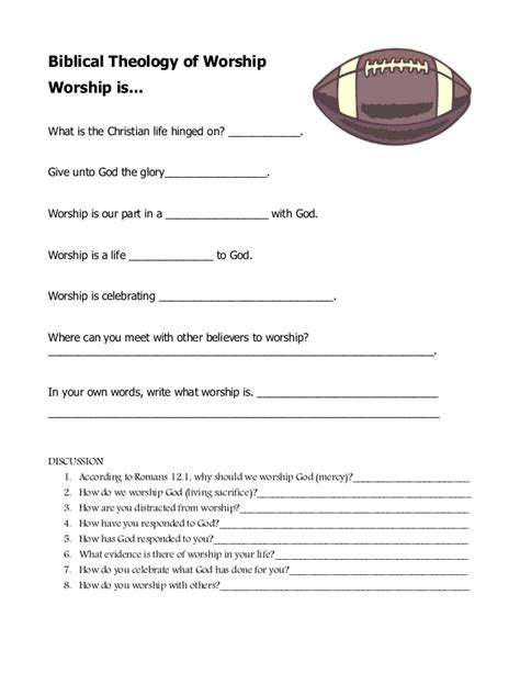 lessons from god for living a books lesson 1 worksheet worship