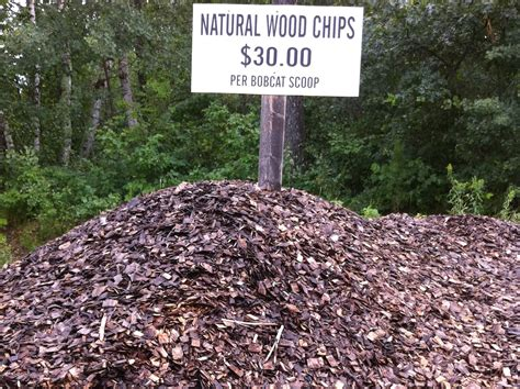 wood chips landscaping landscape mulch