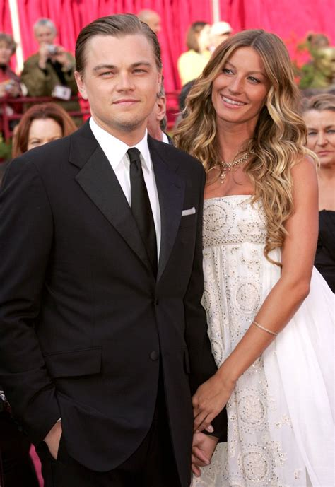 leonardo dicaprio wife leonardo dicaprio and gisele bundchen at the 2015 oscars