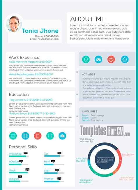 25 best ideas about plantillas para curriculum vitae on plantillas para cv