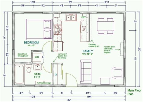 guest house floor plan 20x30 guest house plans guest pool houses