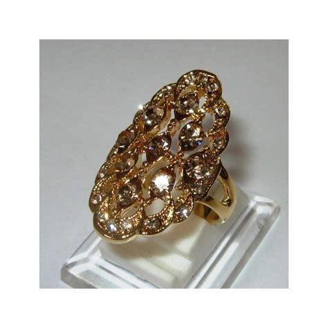 Cincin Gold cincin wanita model etnis kontemporer ring 7 5us