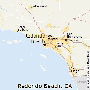 california map redondo best places to live in redondo california
