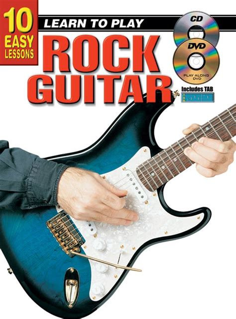 learn to play the guitar how to play and improvise blues and rock solos books 10 easy lessons learn to play rock guitar