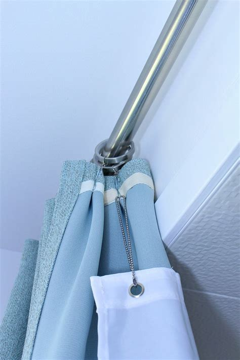 ceiling mount shower curtain rods 25 best ideas about ceiling mount curtain rods on