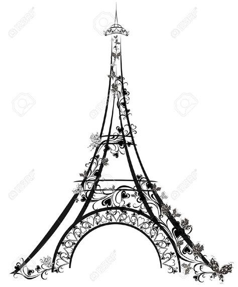 imagenes blanco y negro torre ifel torre eiffel dibujo buscar con google paris