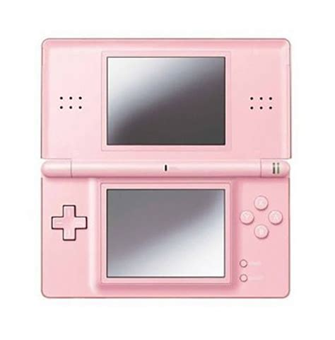 nintendo ds pink console consoles nintendo ds lite pink console with 222 nds