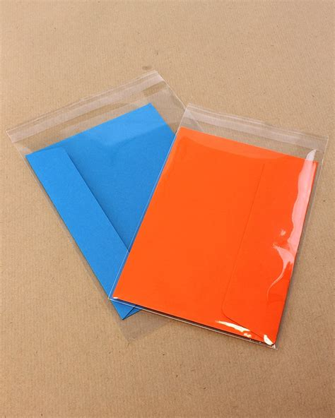 card bags greeting card bags with peel and seal lip