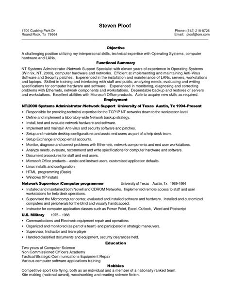 professional it resume template exles of resumes facilities manager professional