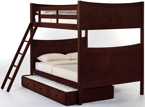 Cherry Bunk Beds School House Cherry Bunk Bed With Trundle From Ne Coleman Furniture