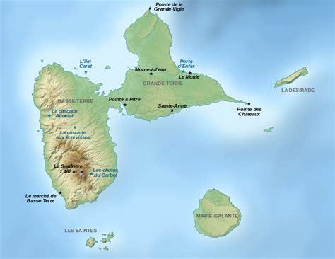 places of interest in map file guadeloupe places of interest map fr svg wikimedia