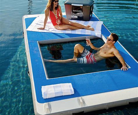 inflatable floating dock  water hammock gearnova