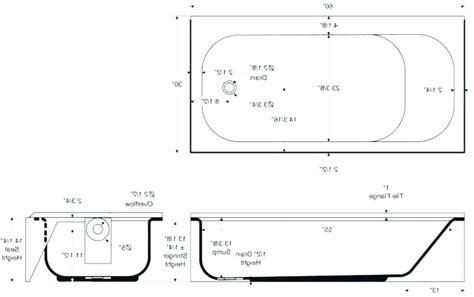 Standard Bathroom Tub Size by Sizes Of Standard Bathtub Bathtub Ideas