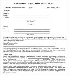 Template Commercial Lease Agreement 6 free commercial lease agreement templates excel pdf