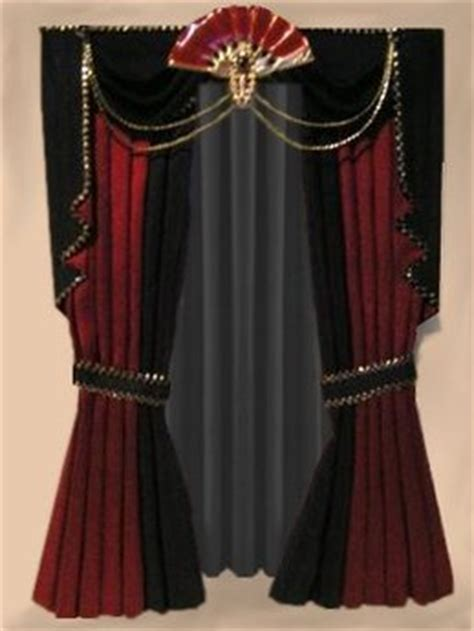 gothic curtains second life marketplace gothic art deco curtain