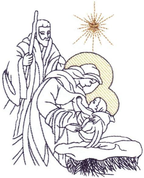 embroidery design nativity scene stitchitize embroidery design nativity scene 3 76 inches