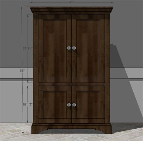 armoire woodworking plans woodshop plans