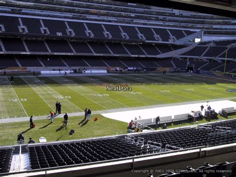 Soldier Field Media Deck by Soldier Field Section 241 Chicago Bears Rateyourseats