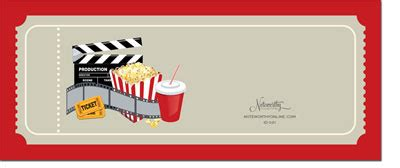 noteworthy collections invitations movie ticket more