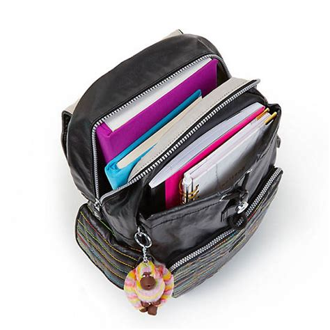 Backpack Groovy 10 ravier medium printed backpack groovy lines kipling