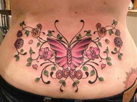 flower back tattoo designs 89 lovely flower tattoos on lower back