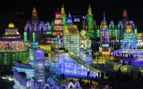 ice city the 2014 harbin international ice and snow festival in china telegraph