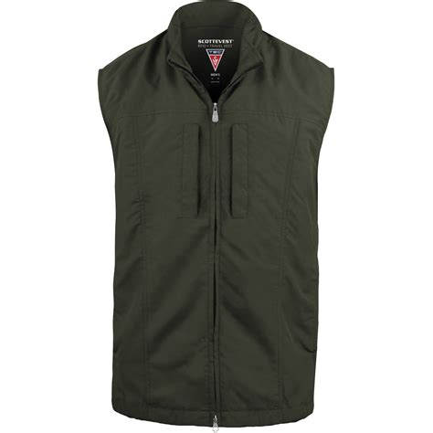 SCOTTeVEST RFID Travel Vest for Men (Large, Olive) RVMLO B&H