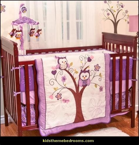 Owl Baby Crib Bedding Decorating Theme Bedrooms Maries Manor Owl Theme Bedroom Decorating Ideas Owl Room