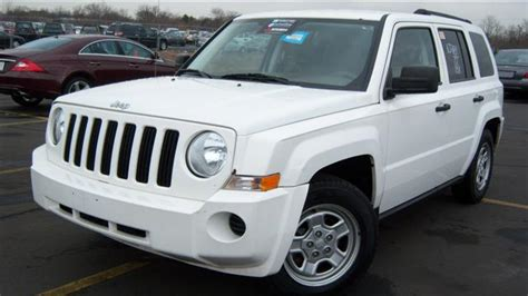 Jeep Patriot For Sale Used Used 2007 Jeep Patriot Sport Sport Utility 5 990 00