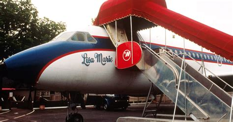 elvis private jet elvis custom designed planes will remain at graceland