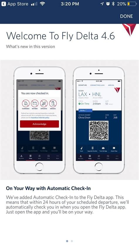 Delta Background Check Ios Fly Delta App Automatically Checks In Travelers Sends Boarding Pass Websetnet