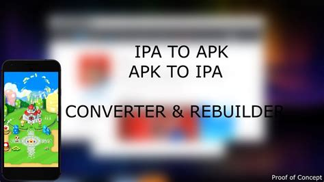 ipa to apk converter convert ipa apk ios apps on android and vice versa