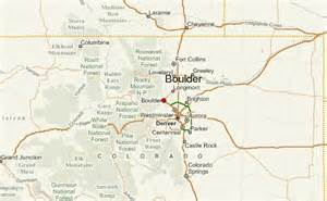 Boulder Colorado Map by Boulder Location Guide