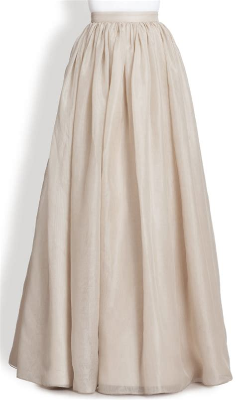 white maxi skirt dress