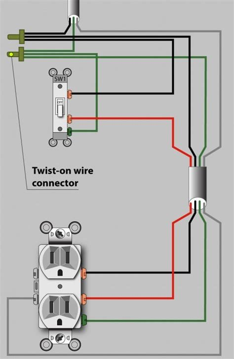 electrician explains   wire  switched  hot