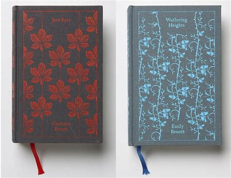 jane eyre penguin clothbound quot jane eyre quot by charlotte bront 235 and quot wuthering heights quot by emily bront 235 beautiful clothbound