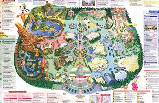disneyland park california map index of parks pimages tokyo disneyland 2011 park map