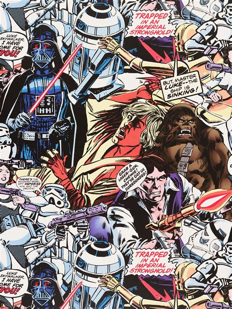 wallpaper cartoon vintage wallpaper colorful star wars retro cartoon graham brown